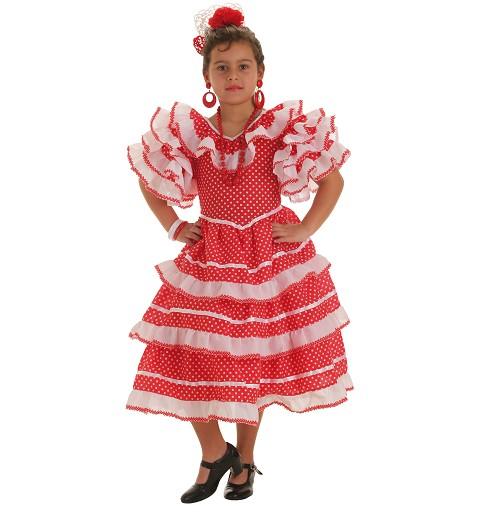 Disfraz Infantil Sevillana Graciosa