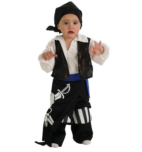 Disfraz Bebe Pirata 7 Mares Niño