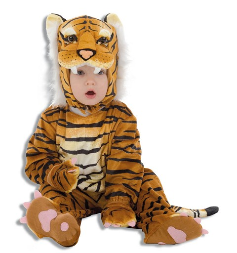 Disfraz Bebe Tigre Marron