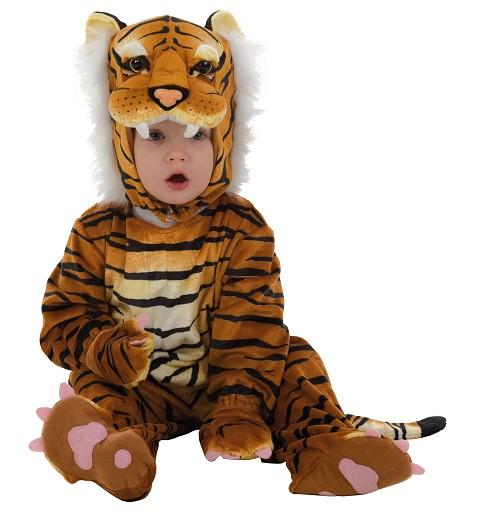 Disfraz Inf. Tigre Marron