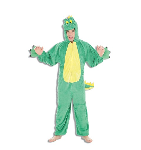 Disfraz Adulto Dino Verde