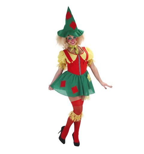 Disfraz Adulto Espantapajaros Mujer