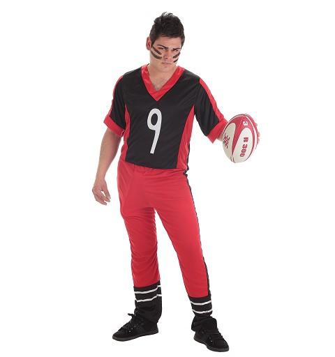 Disfraz Adulto Jugador de Rugby