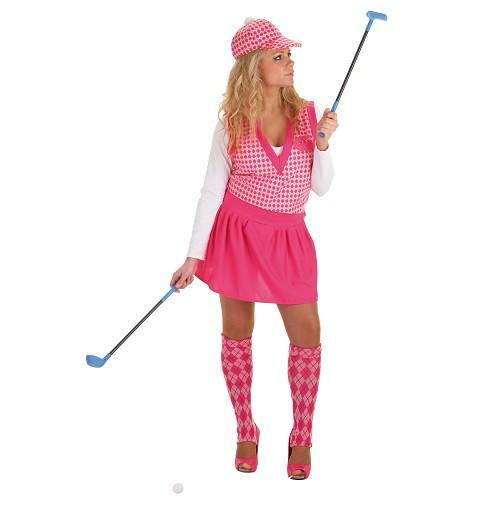 Disfraz Adulto Jugadora Golf
