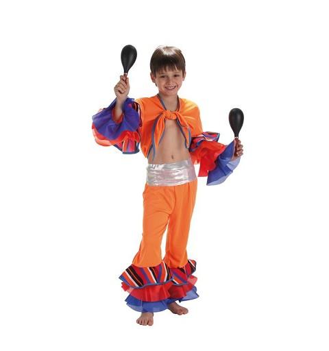 Disfraz Infantil Cubano Rayas
