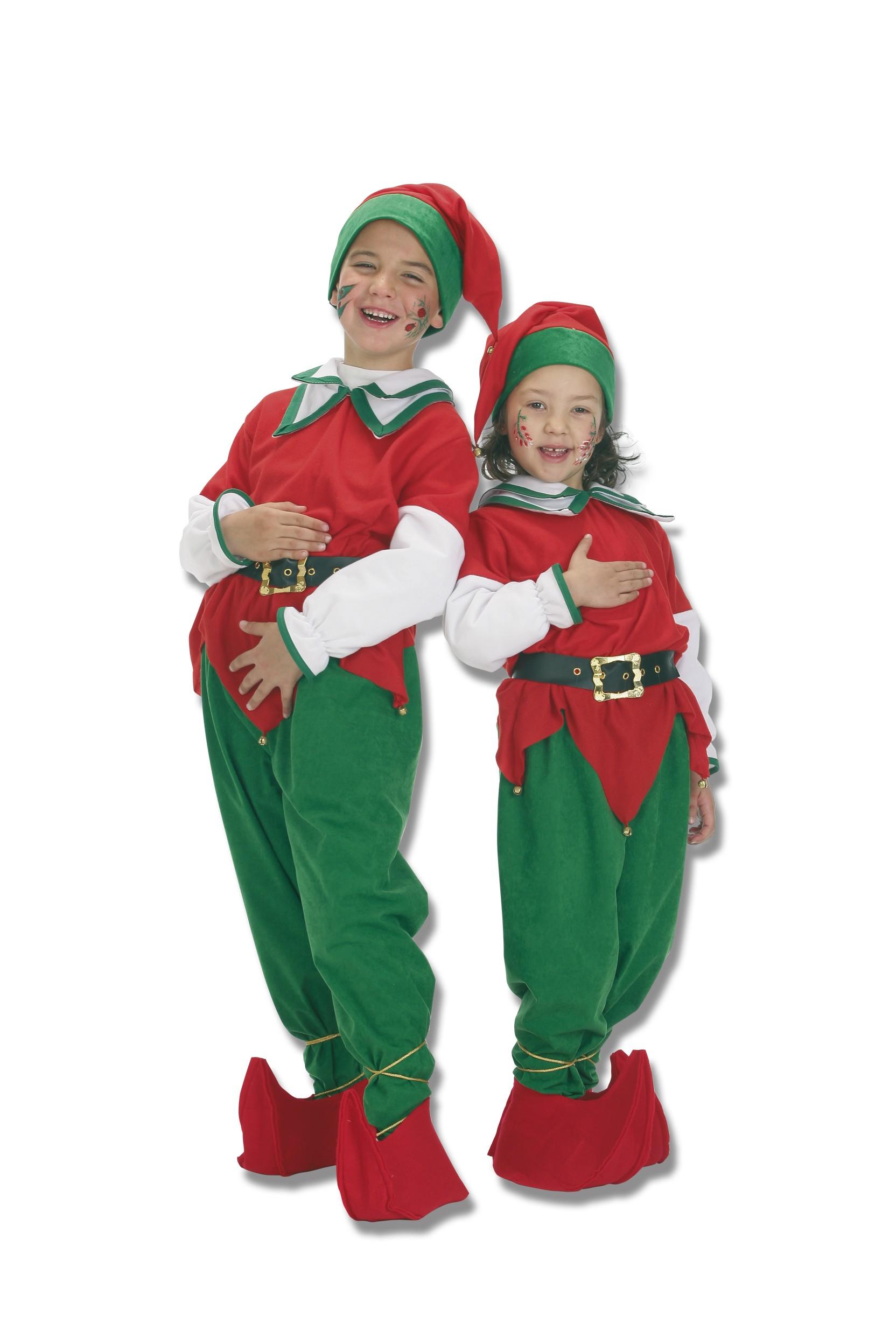Trajes de duendes navide os - Disfraces de duendes navidenos para ninos ...