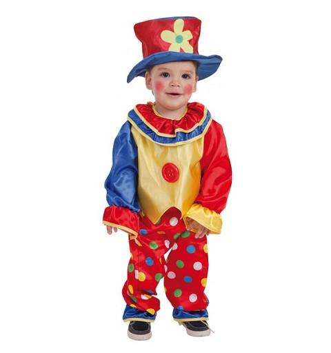 Disfraz Payaso Pepon Bebe (0 a 12 meses)