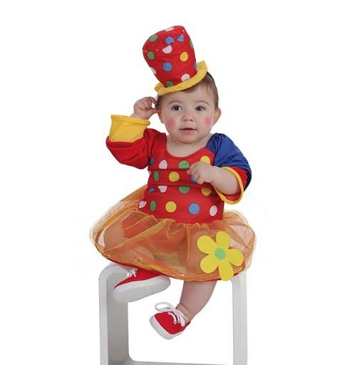 Disfraz Payasa Pepona Bebe (0 a 12 meses)