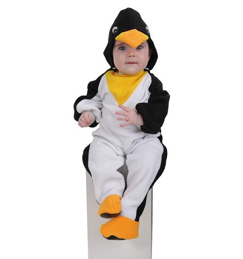 Disfraz Pingúino Bebe Amarillo (0 a 12 meses)