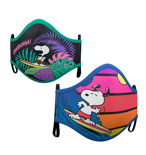 Set 2 Mascarillas Snoopy...