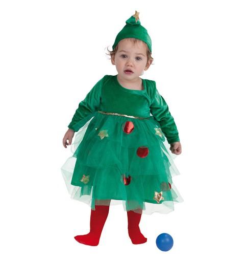 Disfraz Arbol de Navidad Bebe (0 a 12 meses)