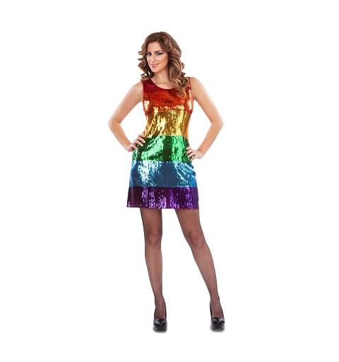 Vestido Arco Iris para Mujer