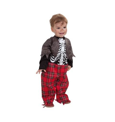 Disfraz de Zombie Colegio Bebé