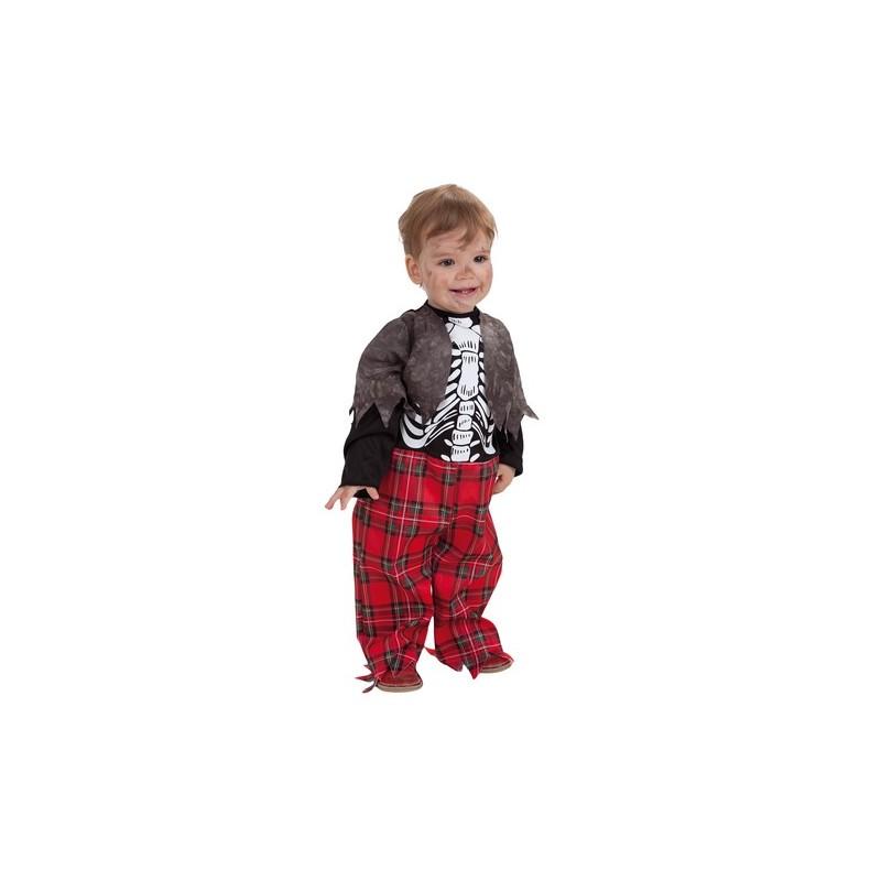 Disfraz zombie colegio bebe 0 a 12 meses midisfraz - Disfraces de halloween bebes ...