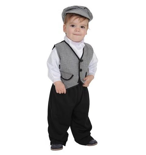 Disfraz Chulapo Coral T-Xs Bebe (1 a 2 años )