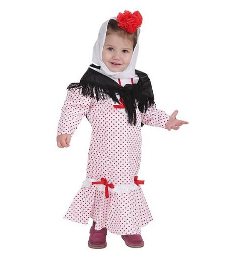 Disfraz Chulapa Coral T-S Bebe (2 a 3 años)