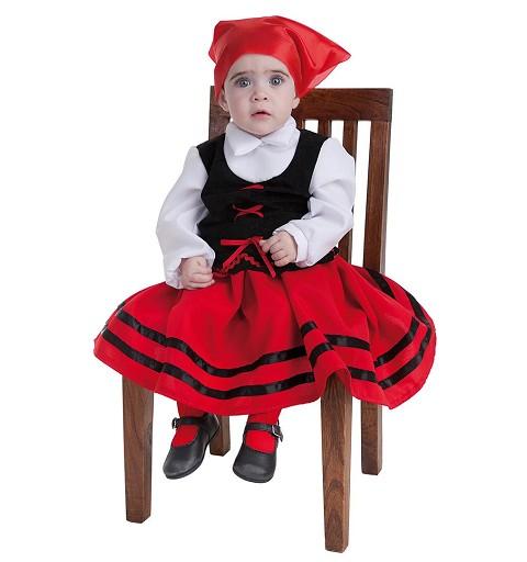Disfraz Pastora Bebe T-Xs (0 a 12 meses)