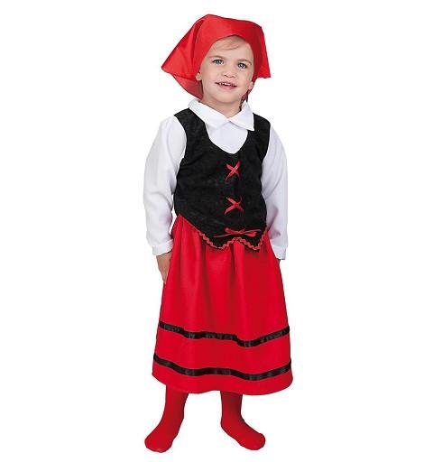 Disfraz Pastora Bebe T-S (1 a 2 años)