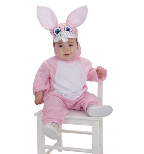 Disfraz Conejita Rosa Bebe (0 a 12 meses)