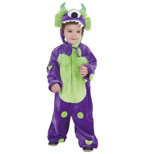 Disfraz Infantil Monster Lila
