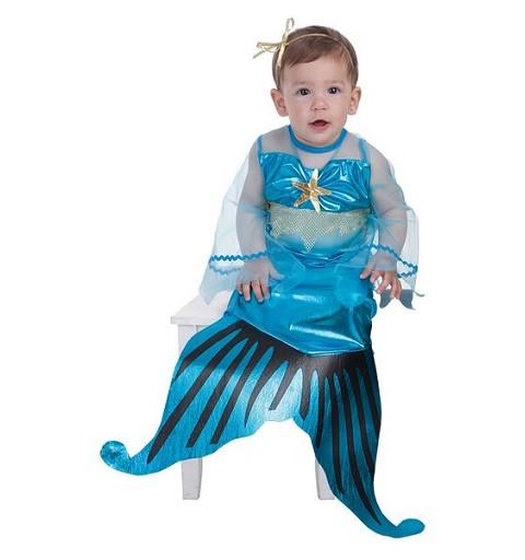 Disfraz Sirenita Bebe (0 a 12 meses)