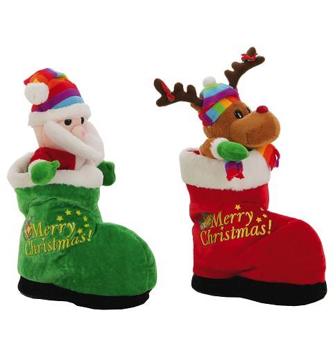 Bota Reno y Bota Papá Noel...