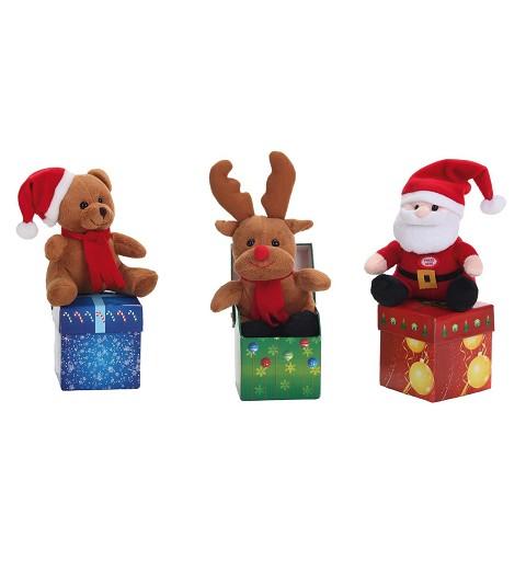 Caja Musical Papá Noel -...