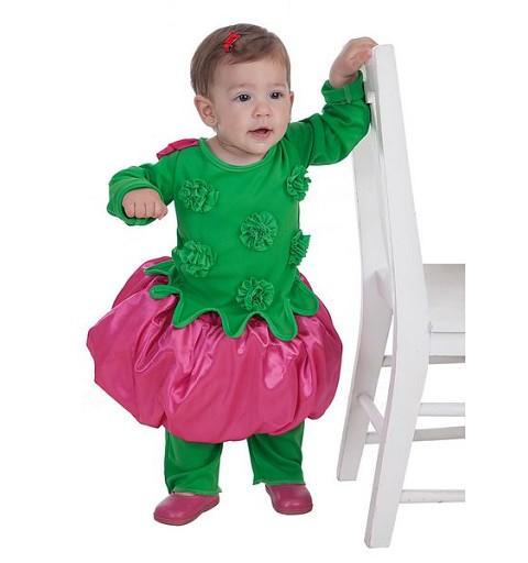 Disfraz Florecita Bebe (0 a 12 meses)