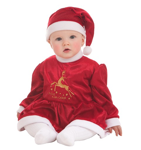 Traje Baby Noel Reni para...