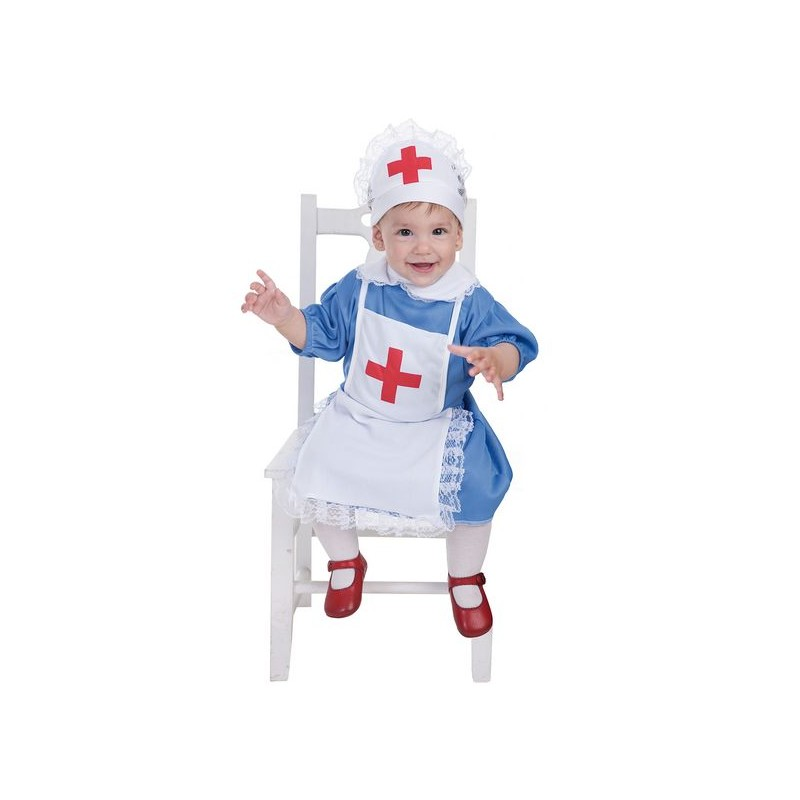 Disfraz enfermera bebe 0 a 12 meses midisfraz - Disfraces para bebe nina ...