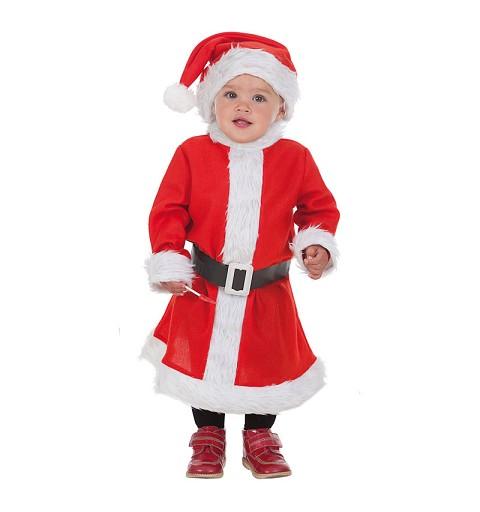 Disfraz Mama Noel Bebe Talla Xs (0 a 12 meses)