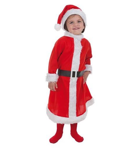 Disfraz Mama Noel Bebe Talla S (De 1 a 2 años)