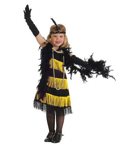 Disfraz Charleston Oro Infantil