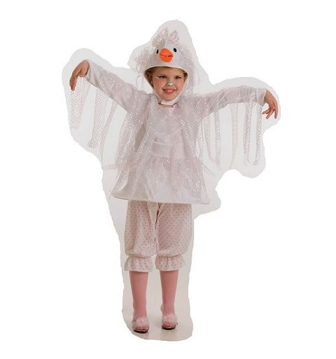 Disfraz Cigúeña Niña Infantil