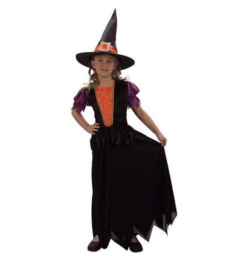 Disfraz Infantil Bruja Vestido Lar