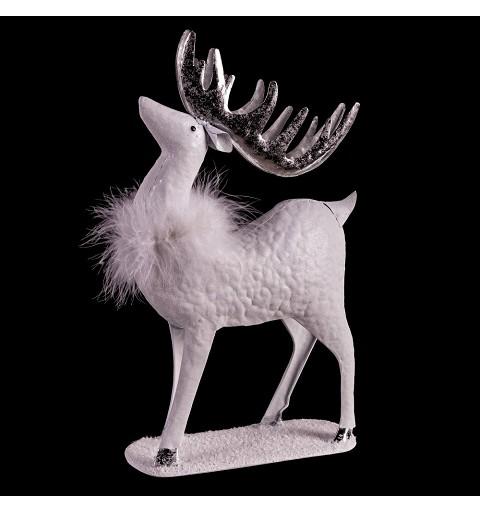 Ciervo Blanco Navideño 25 x...