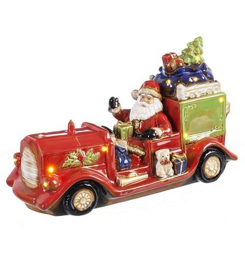 Coche Papá Noel Decoración...