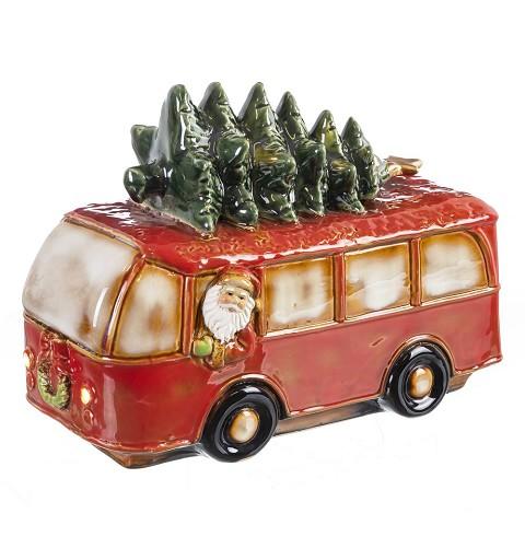 Autobús Papá Noel Cerámica...