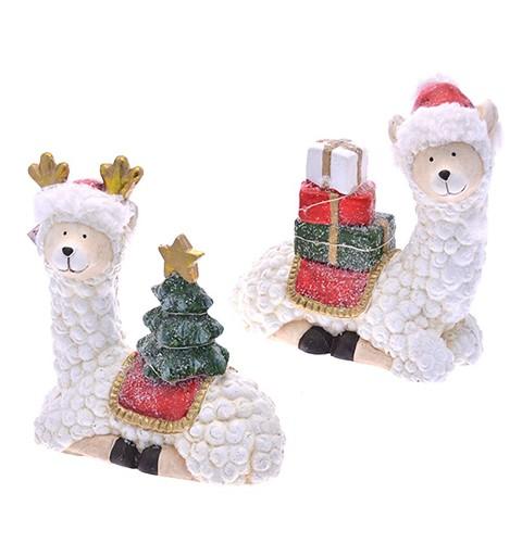 Llama de Navidad con Luz...