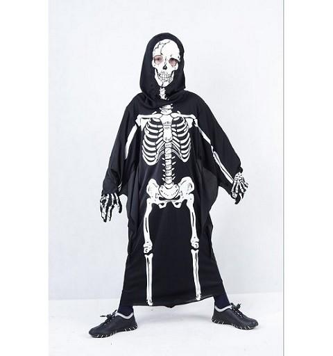 Disfraz Tunica Esqueleto - Md Infantil