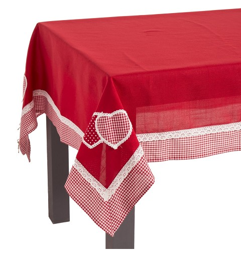 Mantel de Navidad Rojo 100%...