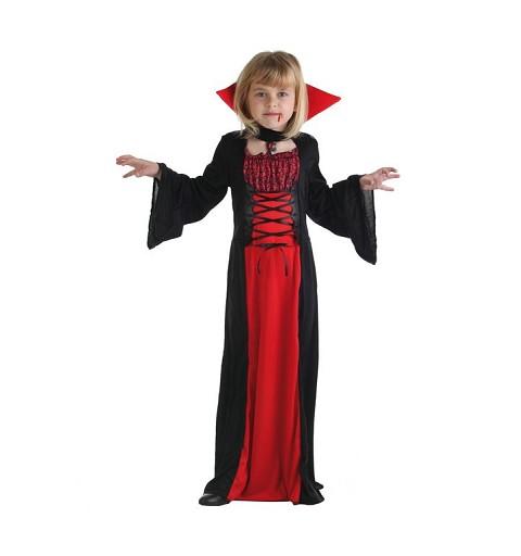 Disfraz Vampira Fantasmitas Infantil