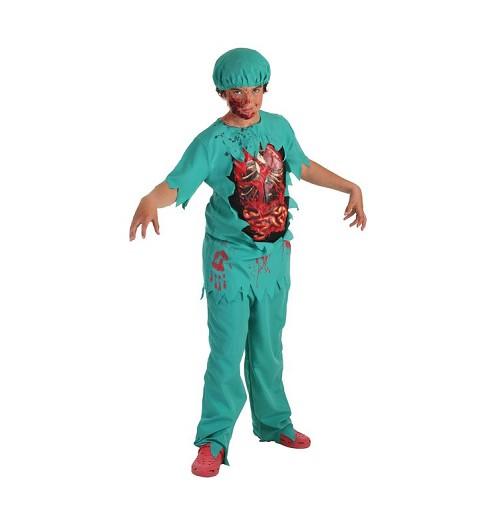 Disfraz Infantil Doctor Zombie