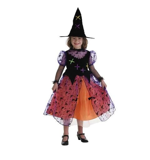 Disfraz Bruja Colorin Niña