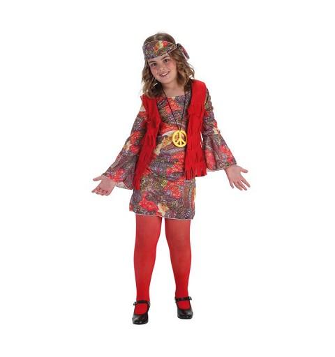 Disfraz Hippy Party Ye-Ye Infantil