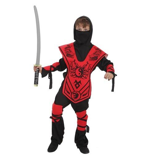 Disfraz Samurai Yin-Yan Infantil