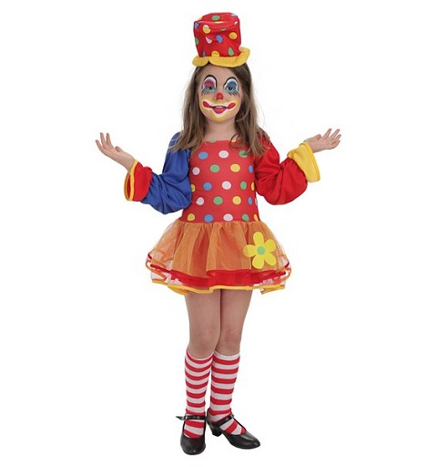 Disfraz Payasa Pepona Infantil