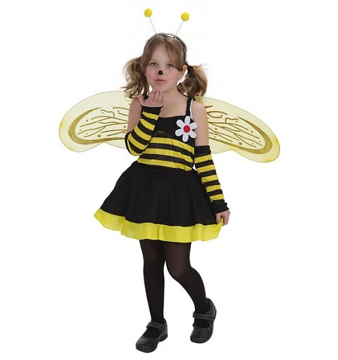 Disfraz Abeja Flor Infantil