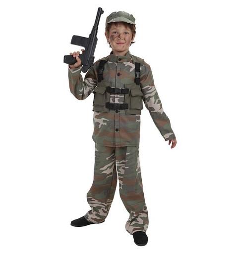 Disfraz Fuerzas Especiales Infantil
