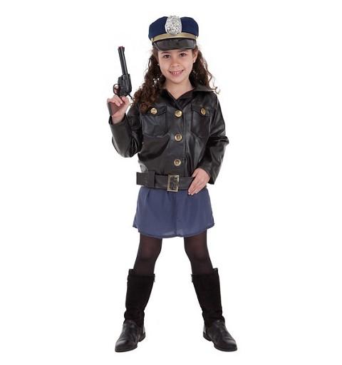 Disfraz Policia Niña Infantil